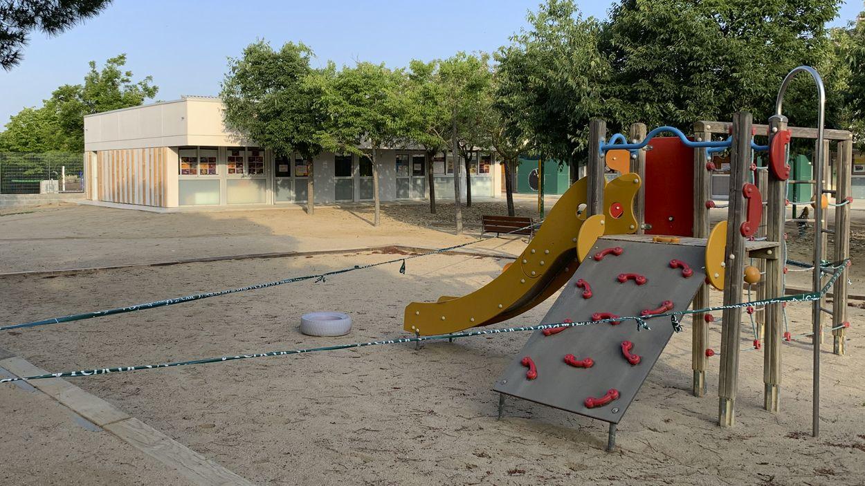 Els centres educatius han estat tancats des del 13 de març / Foto: Lluís Llebot (Cugat Mèdia)