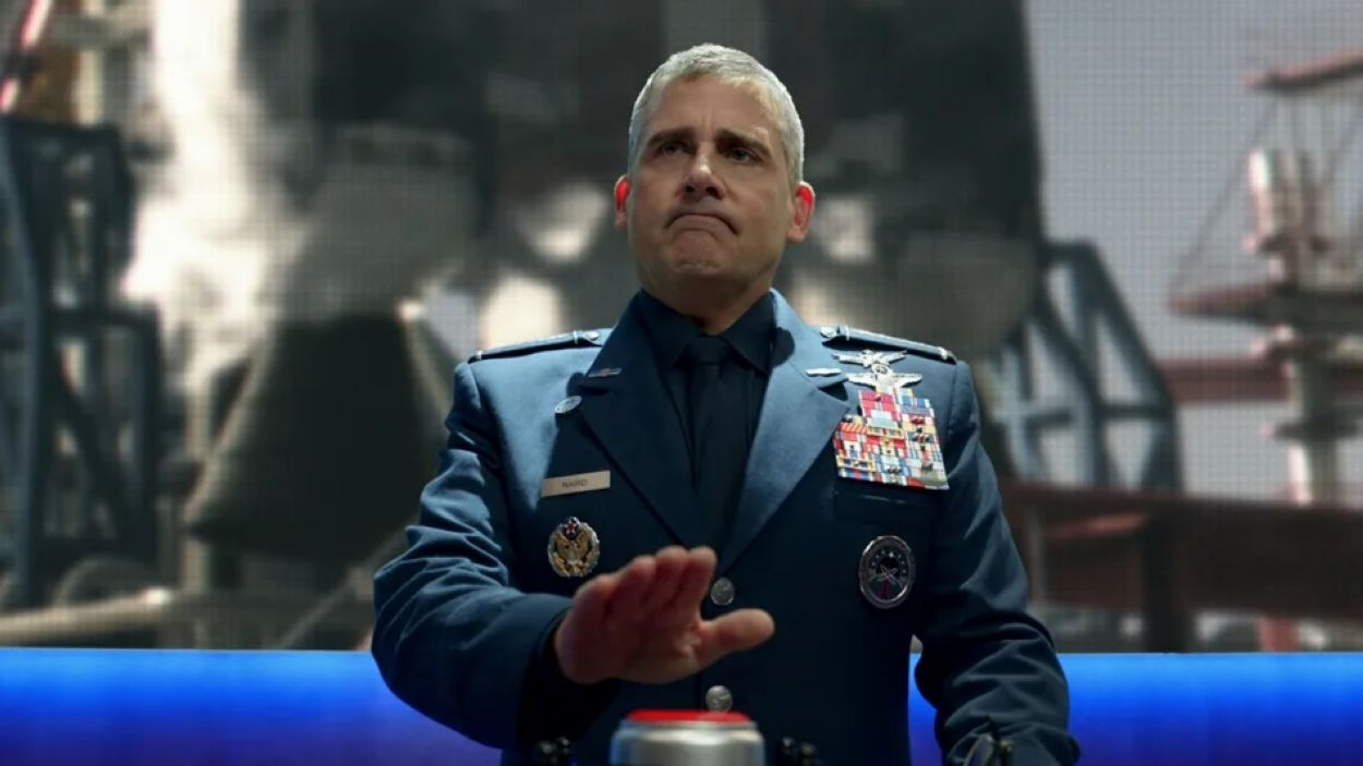 Steve Carell protagonitza 'Space Force'