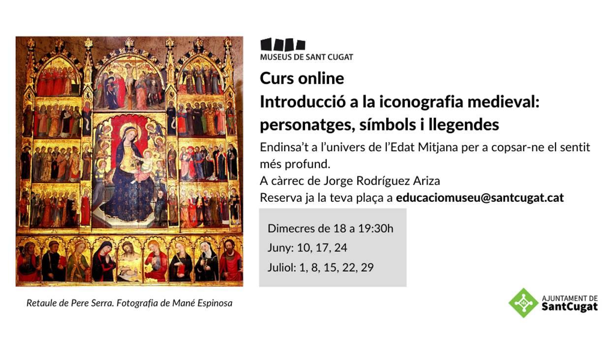 Curs online: 'Introducció a la iconografia medieval: personatges, símbols i llegendes'