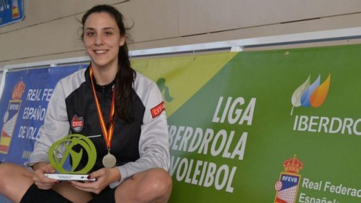 Aina Berbel torna al DSV- Club Voleibol Sant Cugat / Font: Voleicat
