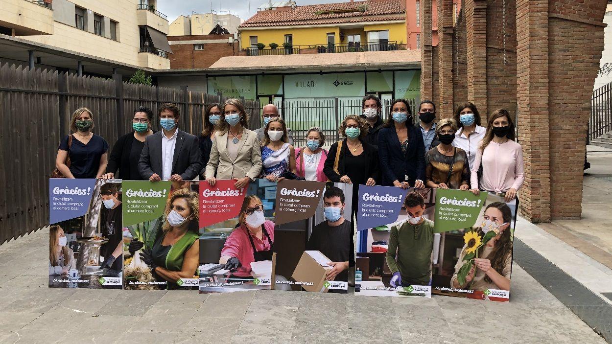 L'Ajuntament engega una campanya per donar suport al petit comerç de Sant Cugat / Foto: Cugat Mèdia