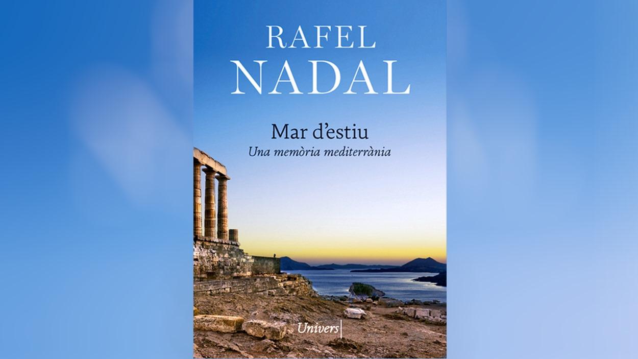 Signatura de llibre: 'Mar d'estiu', de Rafel Nadal