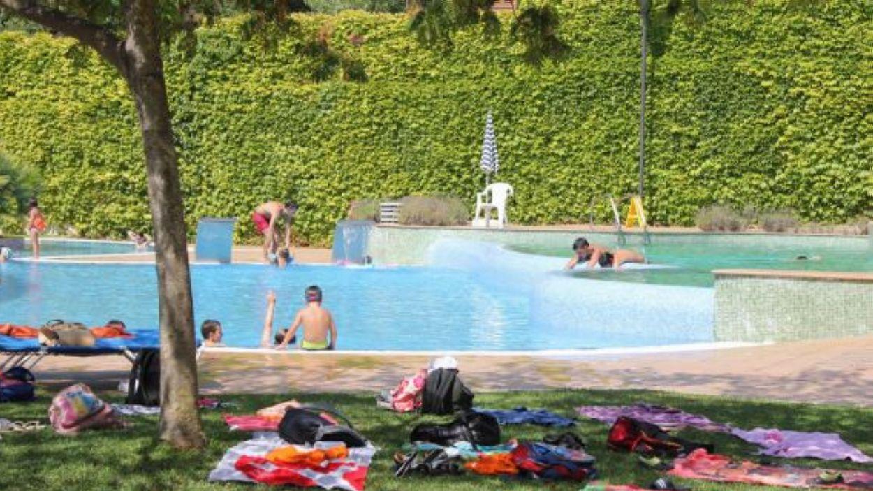 Imatge de la piscina del Parc Central / Font: Ajuntament