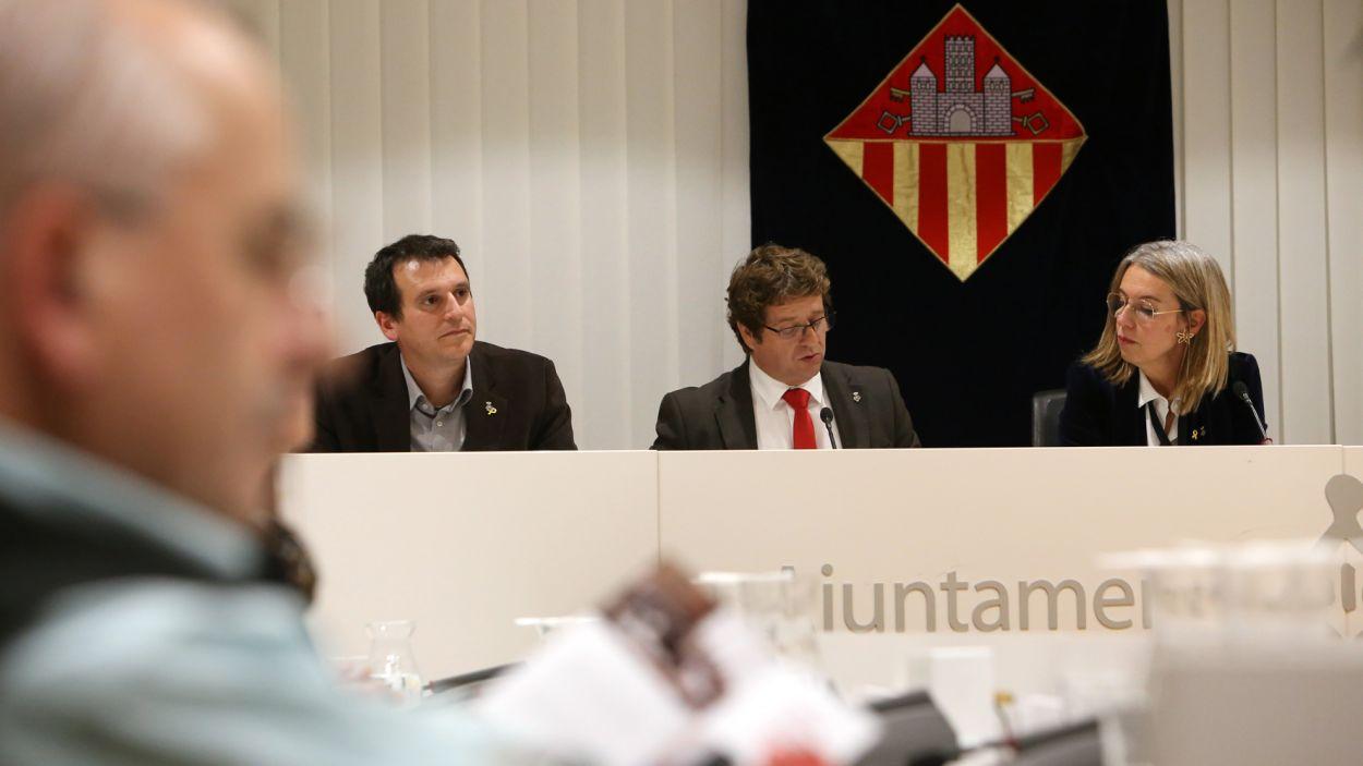 Imatge d'un ple municipal / Foto: Ajuntament