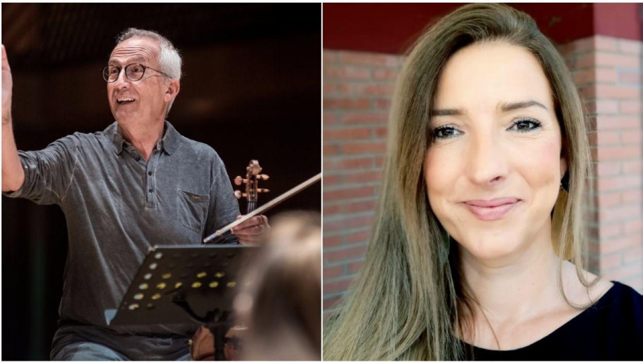 Gerard Claret i Patrícia De No / Foto: Arnau Tenas i cedida