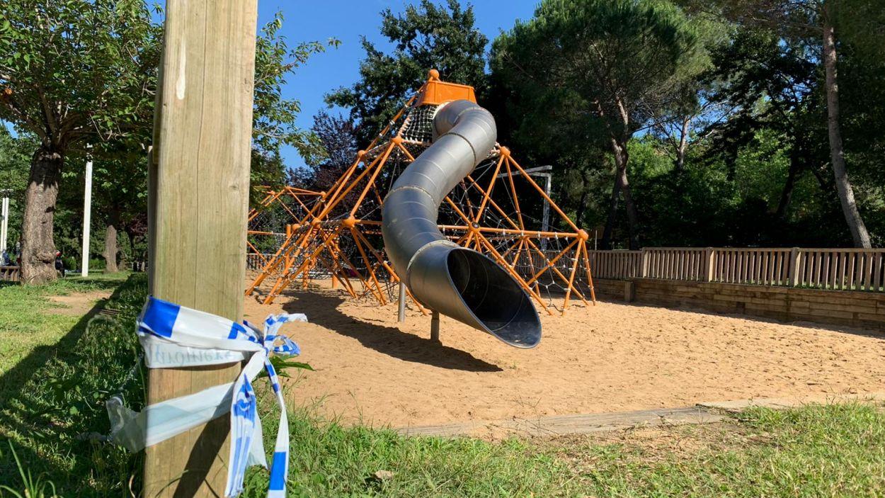Els parcs infantils tindran límit d'ocupació / Foto: Cugat Mèdia (Lluís Llebot)