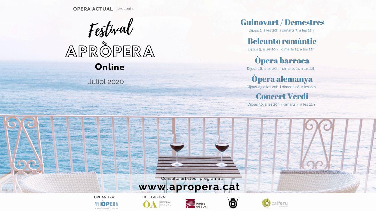 El cartell del festival / Foto: Apròpera