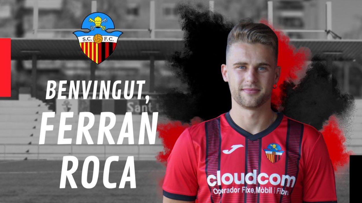 Ferran Roca és un dels nou fitxatges del SantCu / Font: Sant Cugat FC