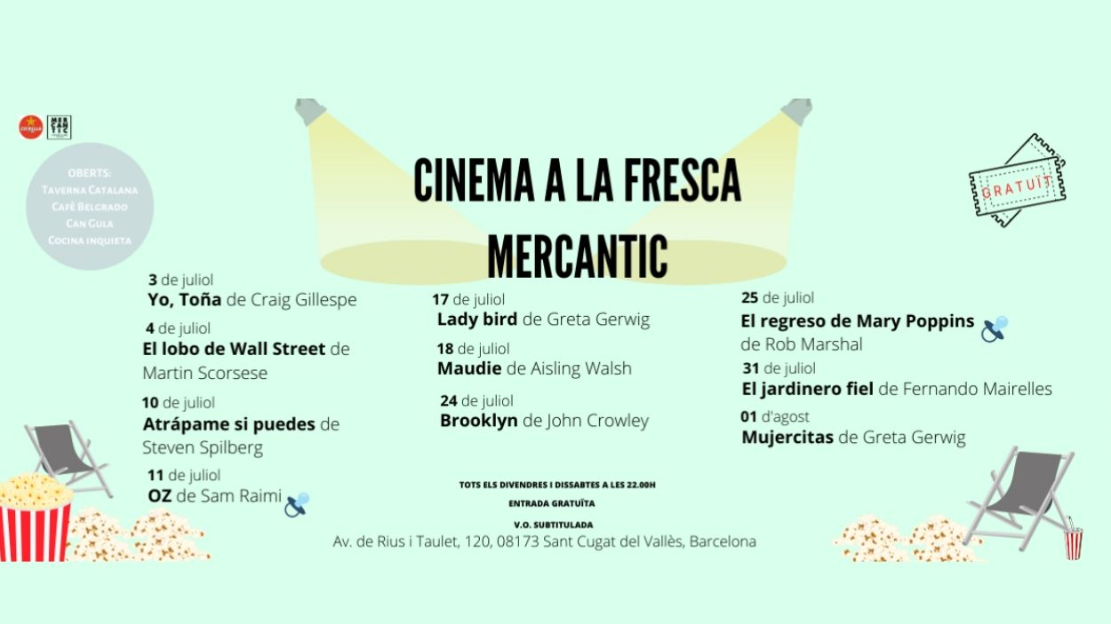 Cinema a la fresca a Mercantic: 'El regreso de Mary Poppins'