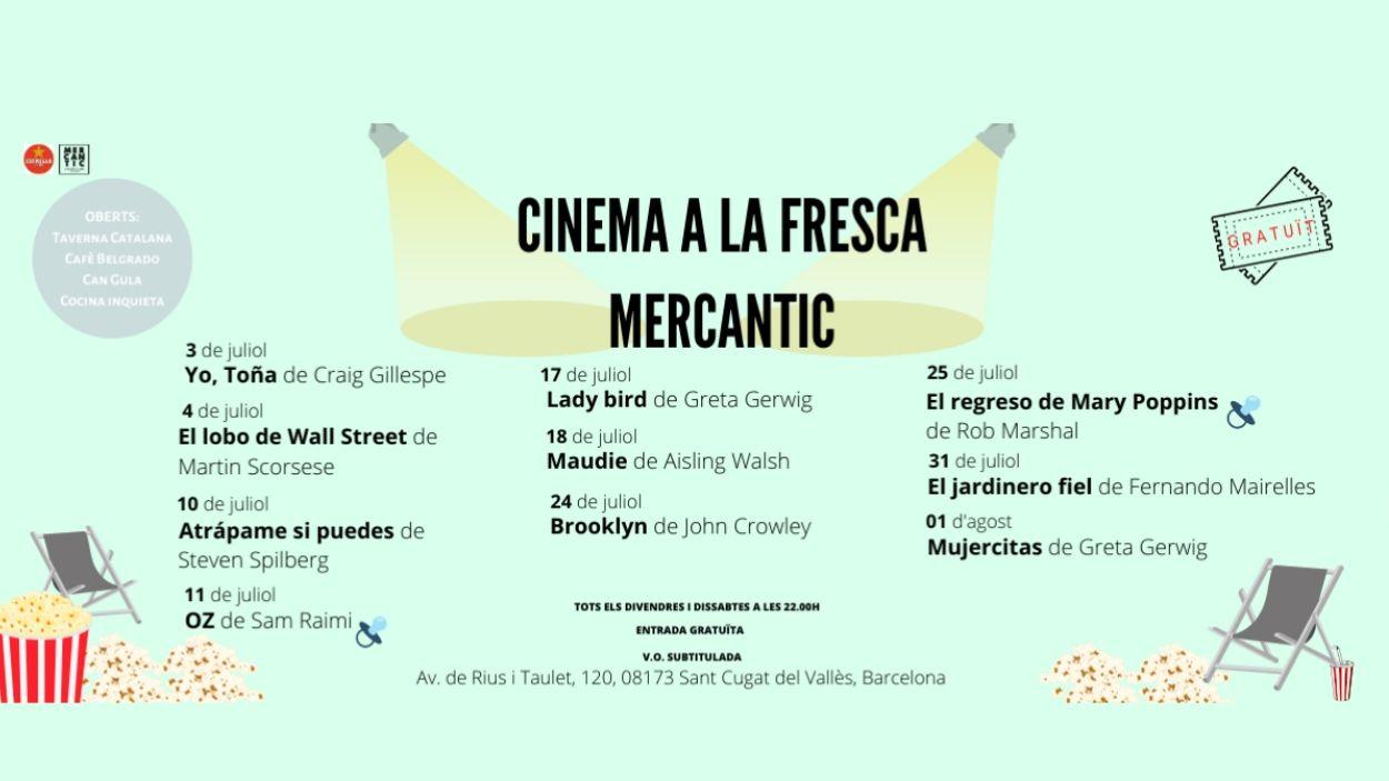 Cinema a la fresca a Mercantic: 'El lobo de Wall Street'