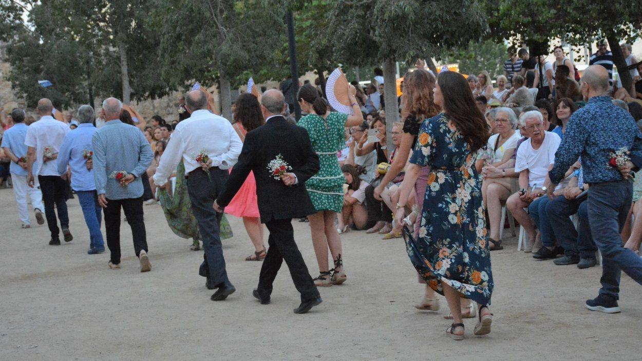 Sant Cugat també balla aquest any el 'Paga-li, Joan', però des de casa / Foto: Localpres