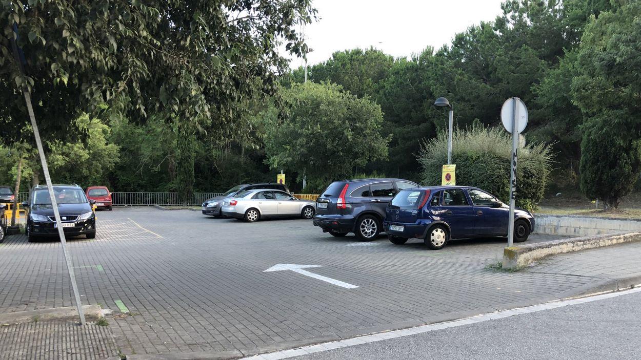 L'aparcament es troba a tocar del mercadet dels dissabtes / Foto: EMD