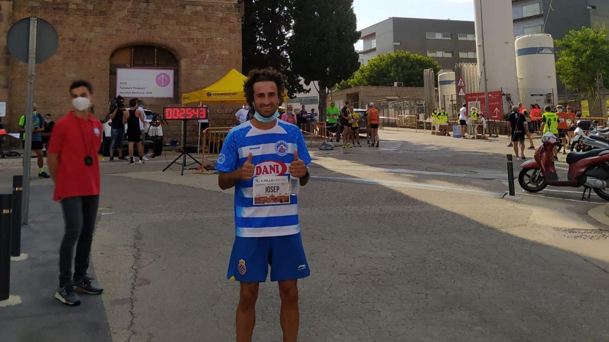 Pepe Díaz ha guanyat la Milla de Sant Pau / Font: Pepe Díaz