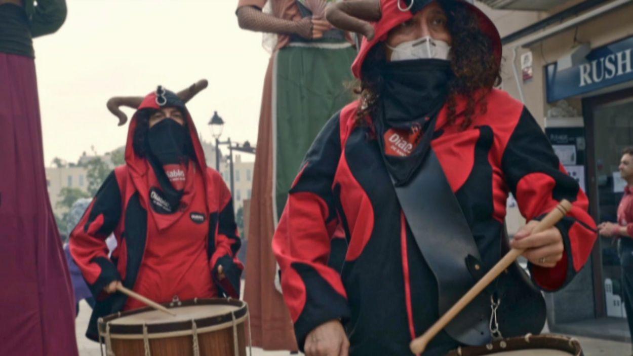 El Seguici de Sant Pere s'ha transformat en vídeo / Foto: Coordinadora de Cultura Popular