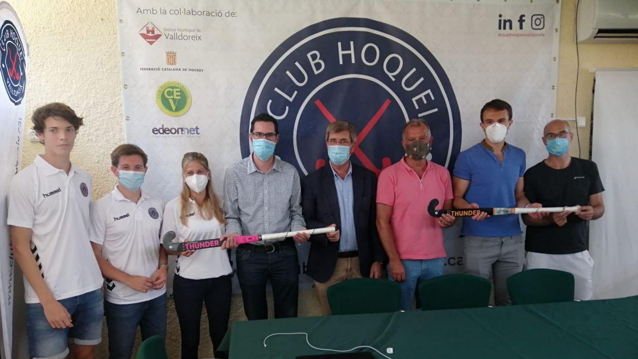 Presentació del Club Hoquei Valldoreix / Font: Cugat Mèdia