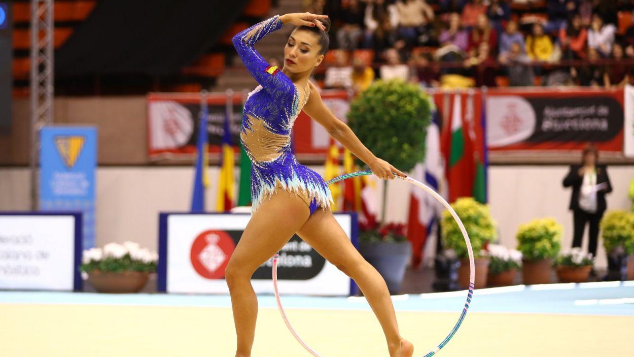 Natalia Garcia durant una actuació / Font: TTFotos