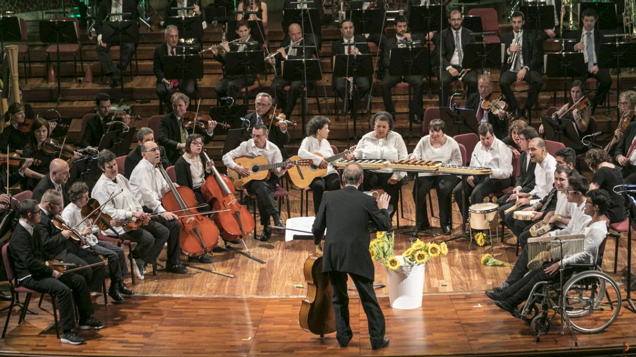 Un concert de 'Mosaico de sonidos' / Foto: OSV
