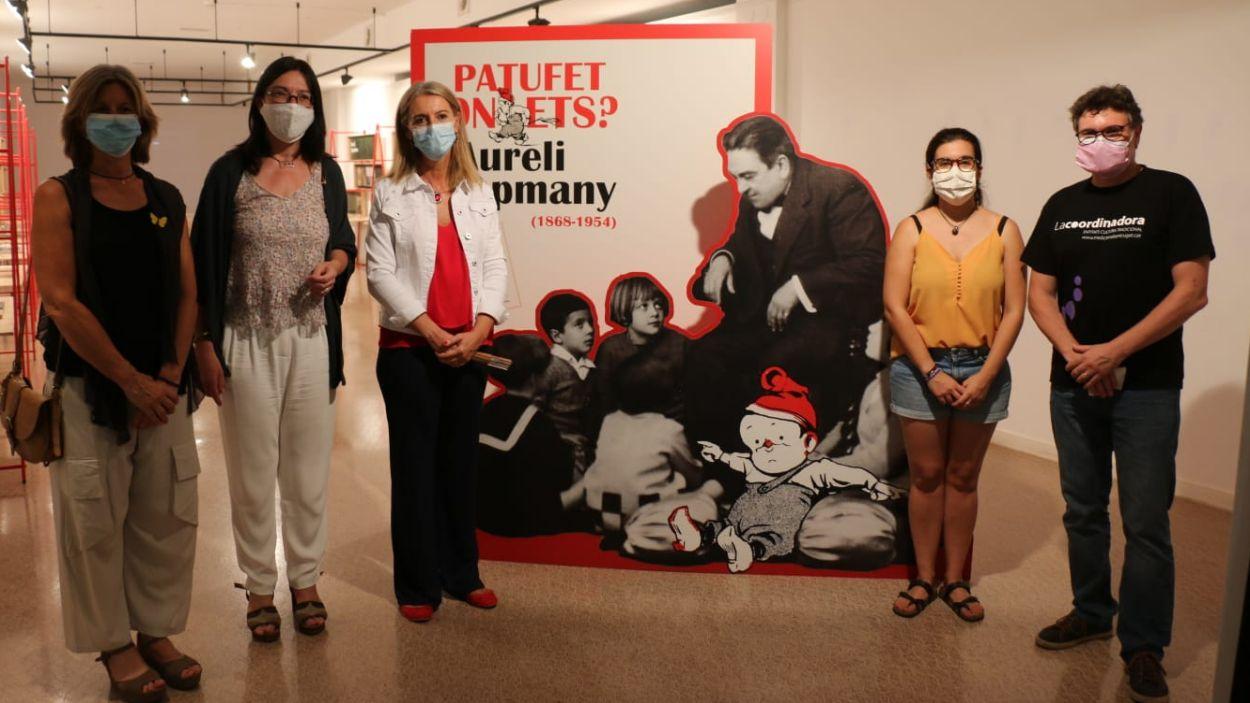 Imatge de la presentació de l'exposició 'Patufet on ets?' / Foto: Ajuntament