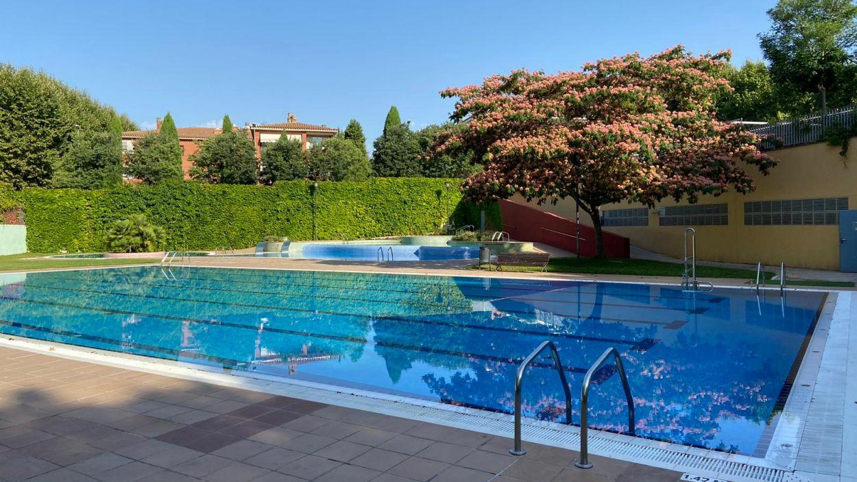 Les piscines municipals, a punt de rebre els primers visitants de l'any / Foto: Ajuntament de Sant Cugat
