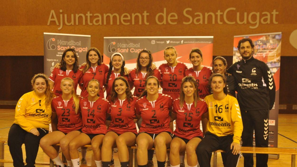 L'Handbol Sant Cugat vol potenciar la branca femenina amb una jornada / Font: Handbol STC