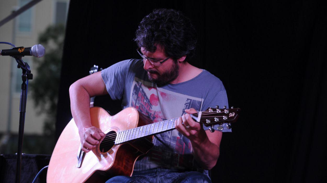 Oriol Saltor presenta nou disc / Foto: Localpres