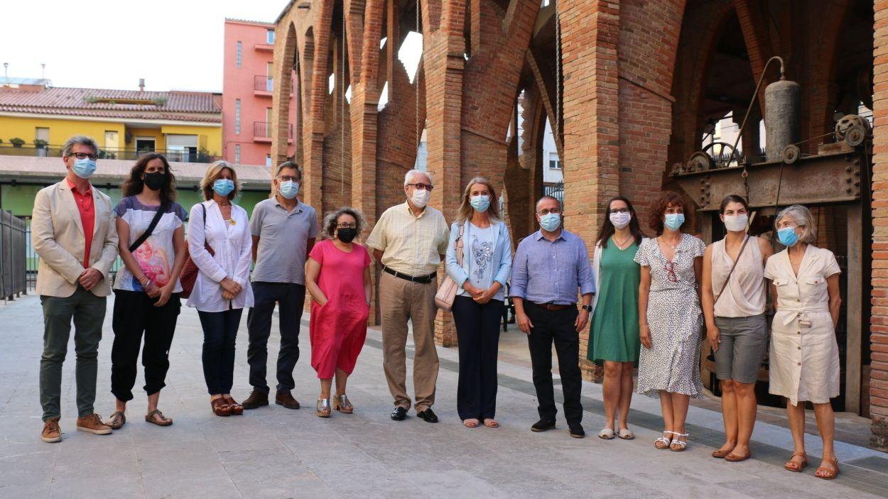 Acompanya'm s'ha presentat públicament en un acte al Celler Modernista / Foto: Ajuntament de Sant Cugat