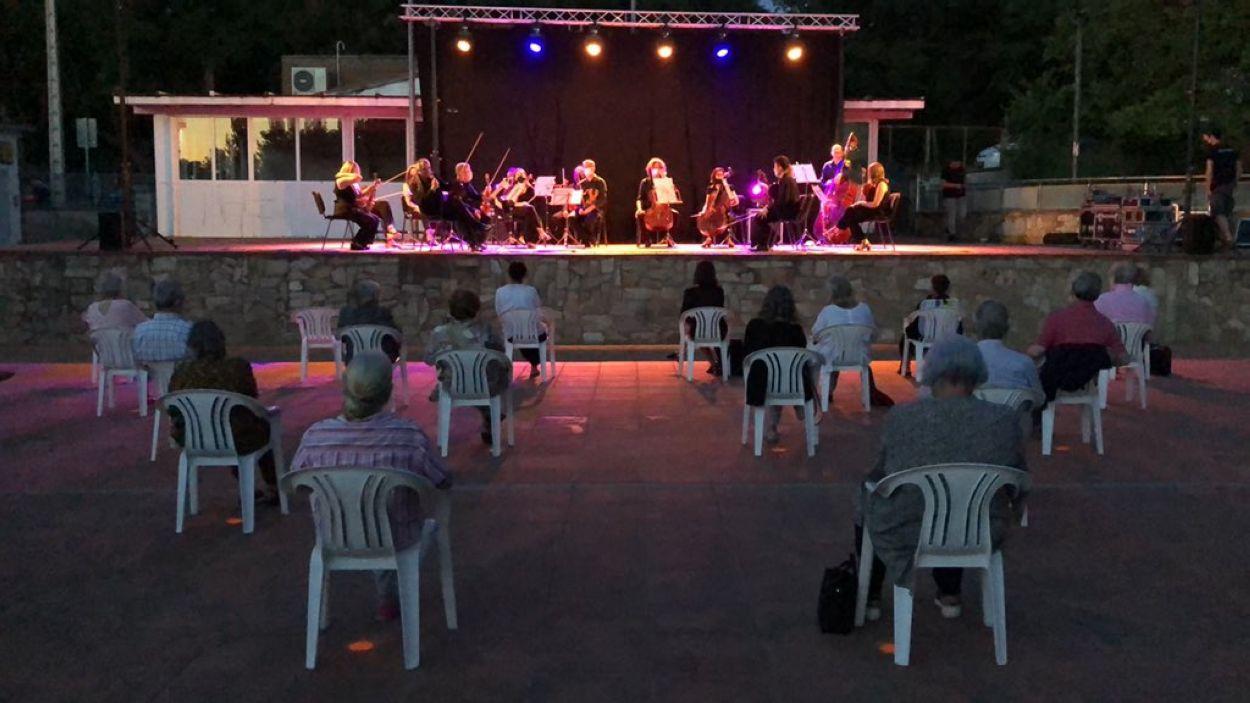 L'activitat cultural ha tornat a Valldoreix / Foto: EMD Valldoreix