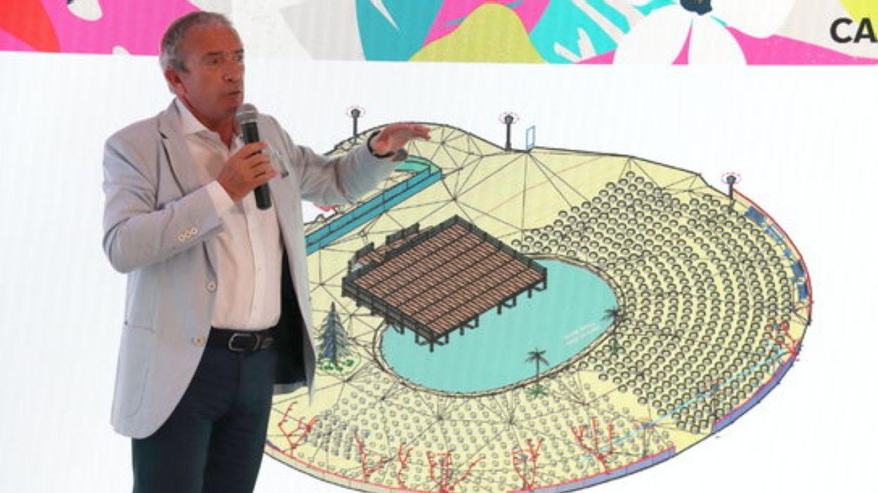 El director del Festival Jardins de Pedralbes, Marín Pérez / Foto: ACN