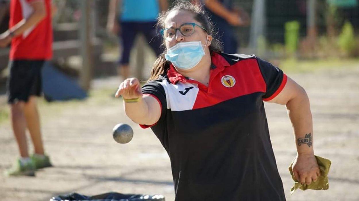 Raquel Sánchez disputarà el Campionat d'Espanya a Almeria / Font: Club Petanca Sant Cugat