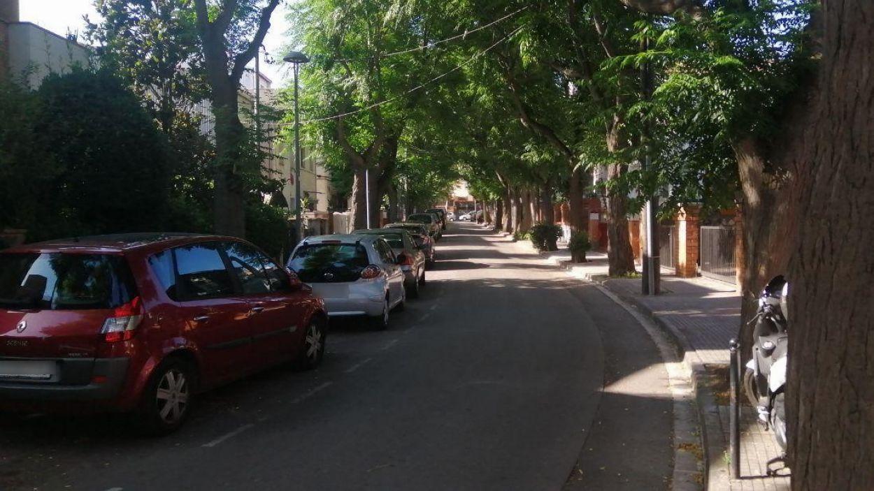 Una imatge d'arxiu del carrer de l'Abat Marcet / Foto: Cugat Mèdia