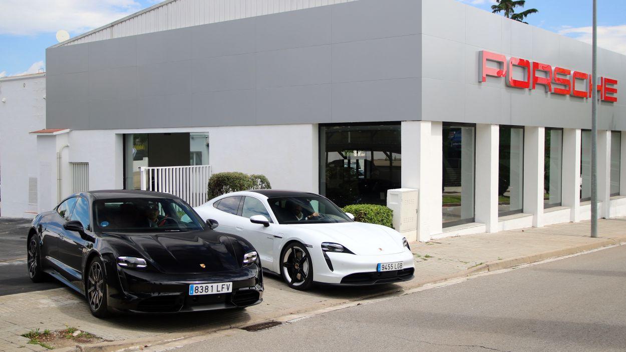 El centre està ubicat a l'avinguda de Cerdanyola / Foto: Centro Porsche Barcelona