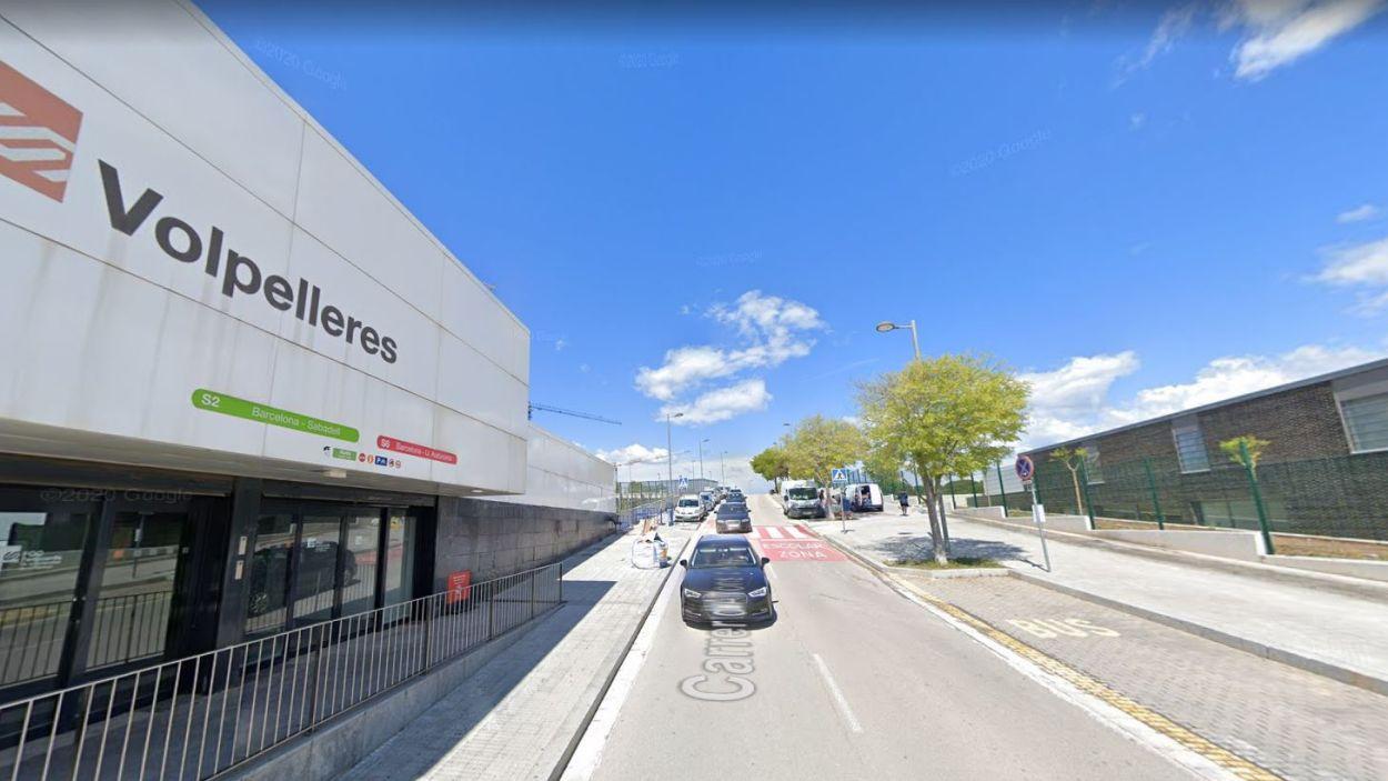 Imatge del tram afectat / Foto: Google Street View