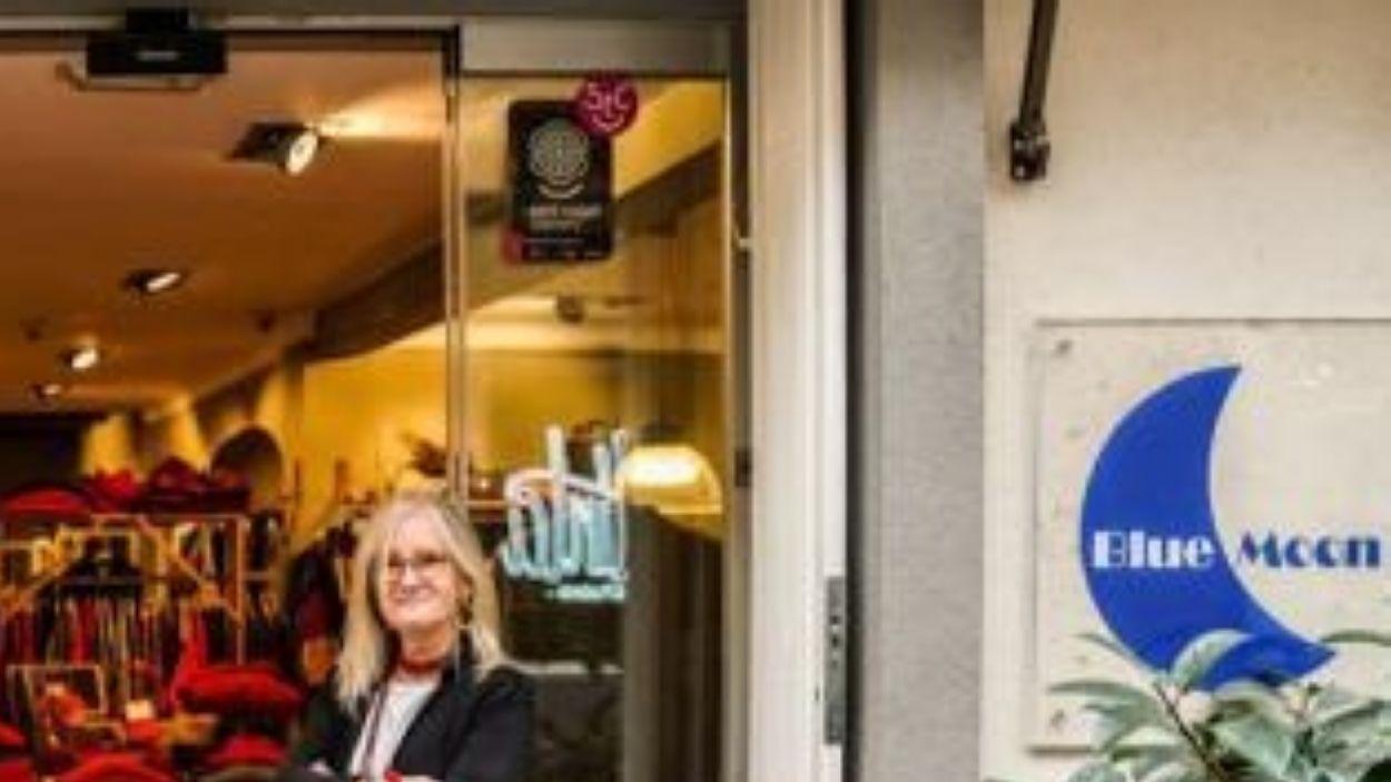 La botiga Blue Moon visita el 'Sant Cugat a fons'
