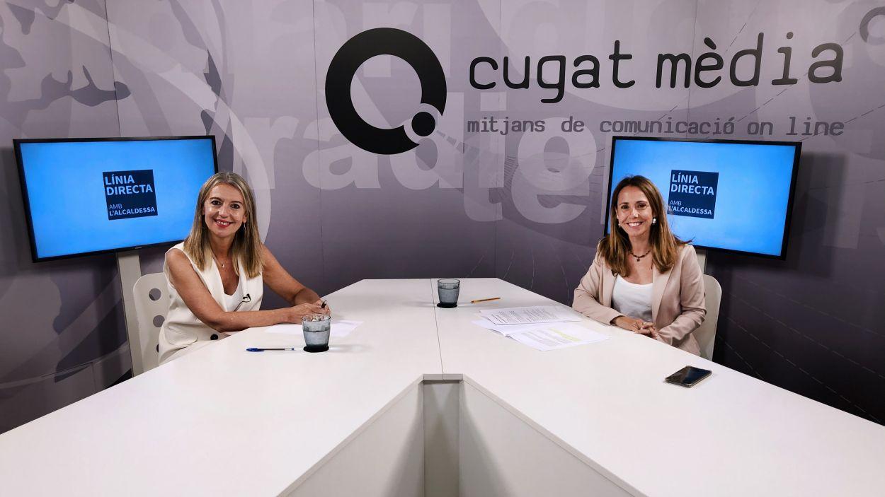 Imatge de l'entrevista / Foto: Cugat Mèdia