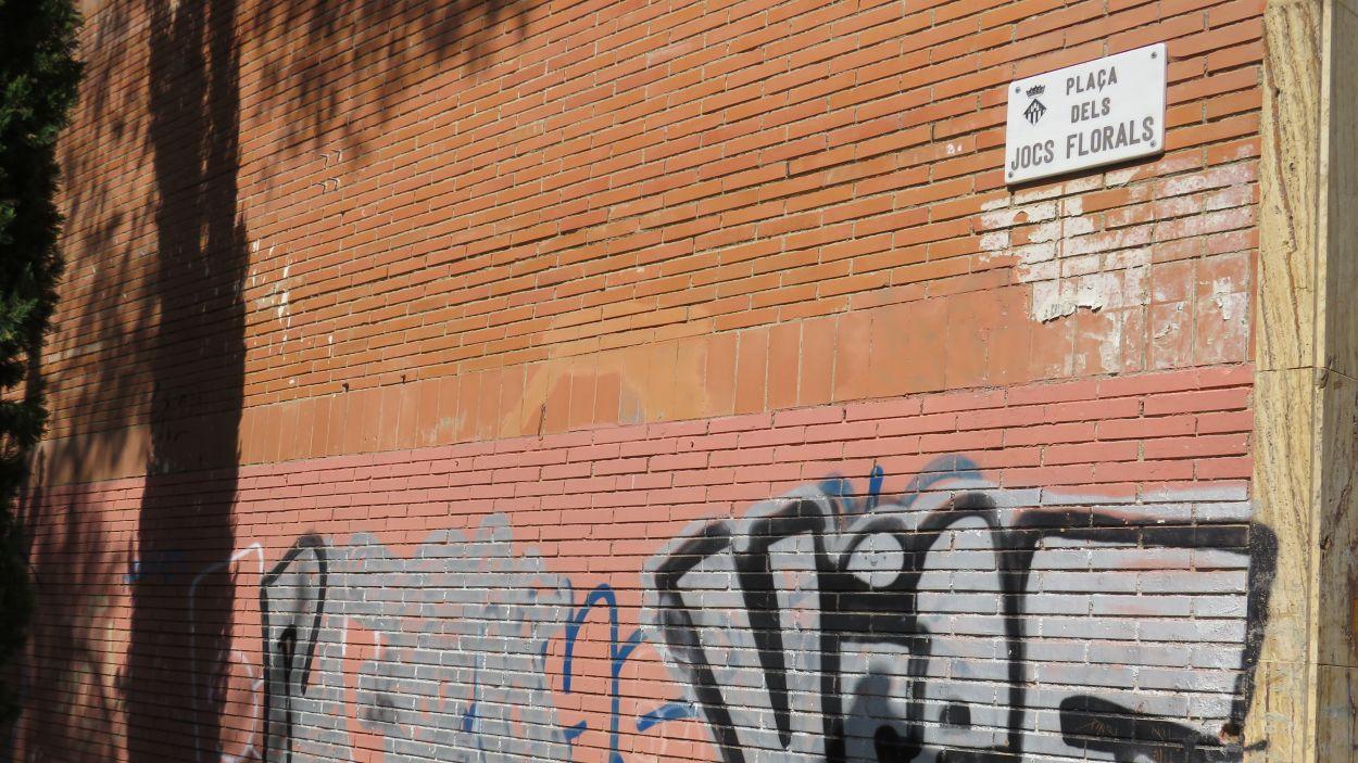 Pinatdes a la plaça dels Jocs Florals / Font: Cugat Mèdia