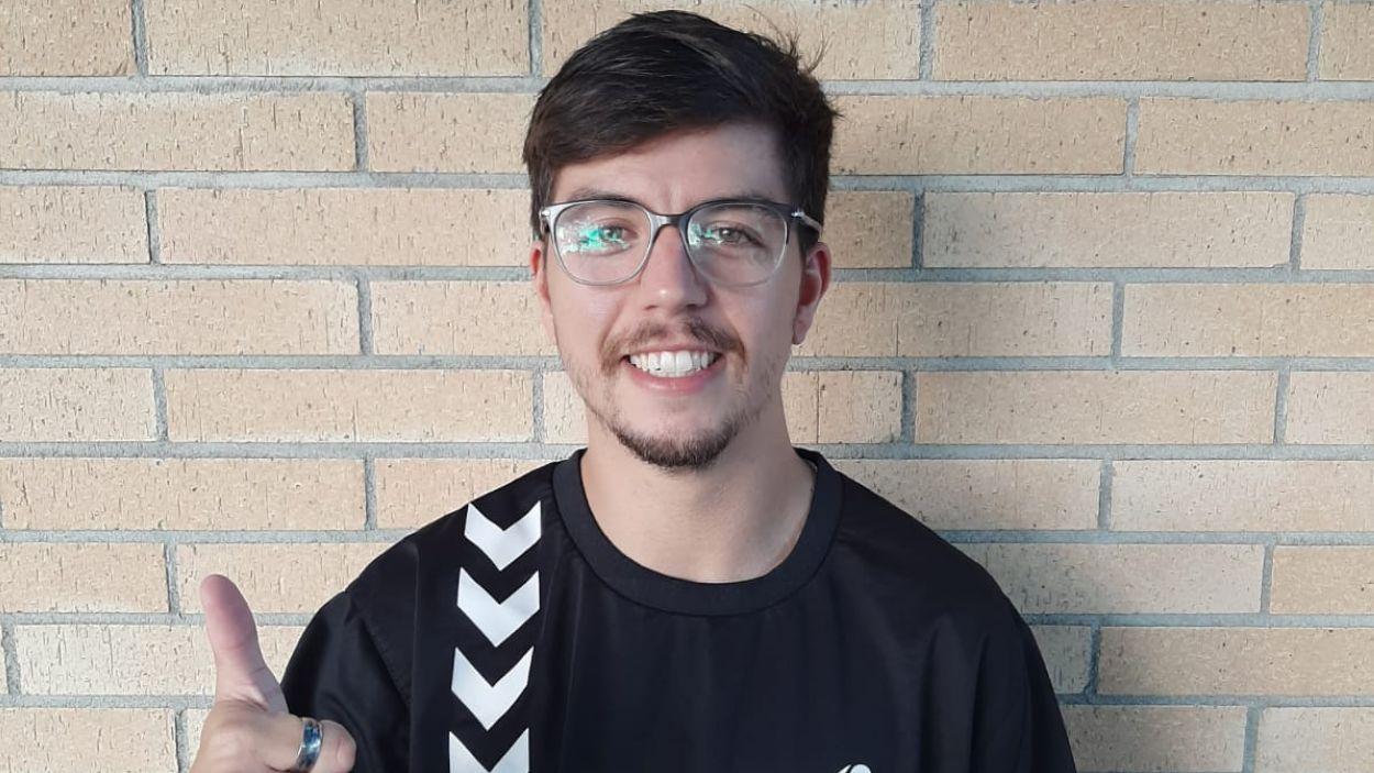 Marc González, nou entrenador del sènior B femení de l'Handbol Sant Cugat / Font: Handbol Sant Cugat
