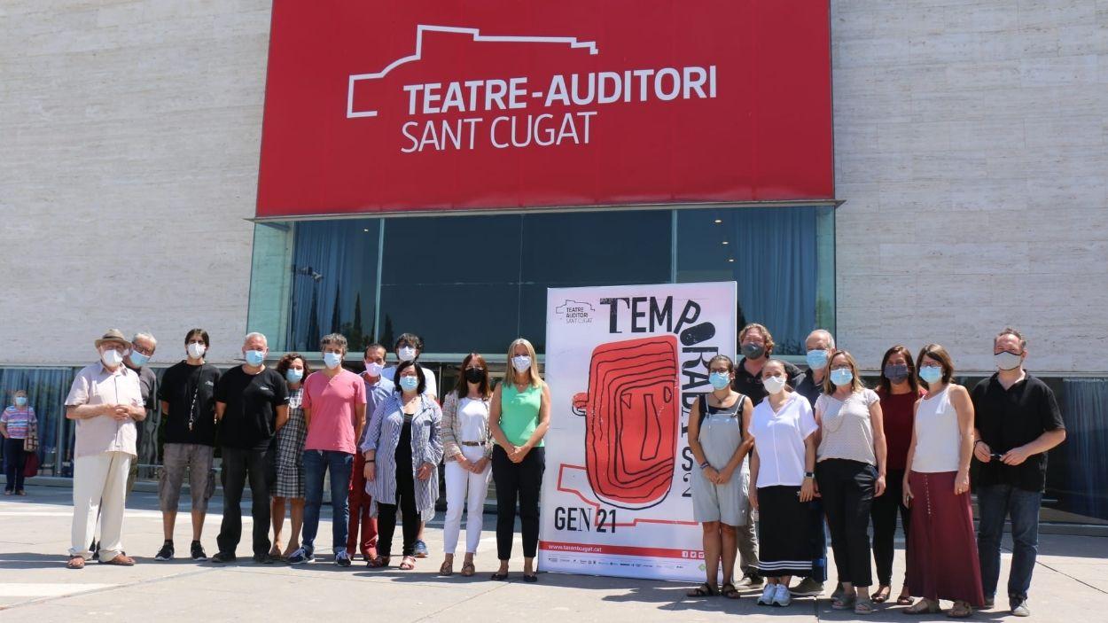 Foto de família del moment de la presentació de la nova temporada / Foto: Premsa Ajuntament