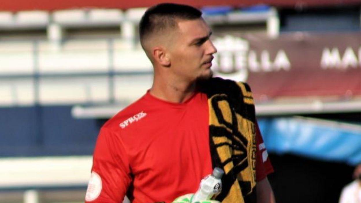 Ramon Juan, preparat pel partit davant el Castelló / Font: UE Cornellà