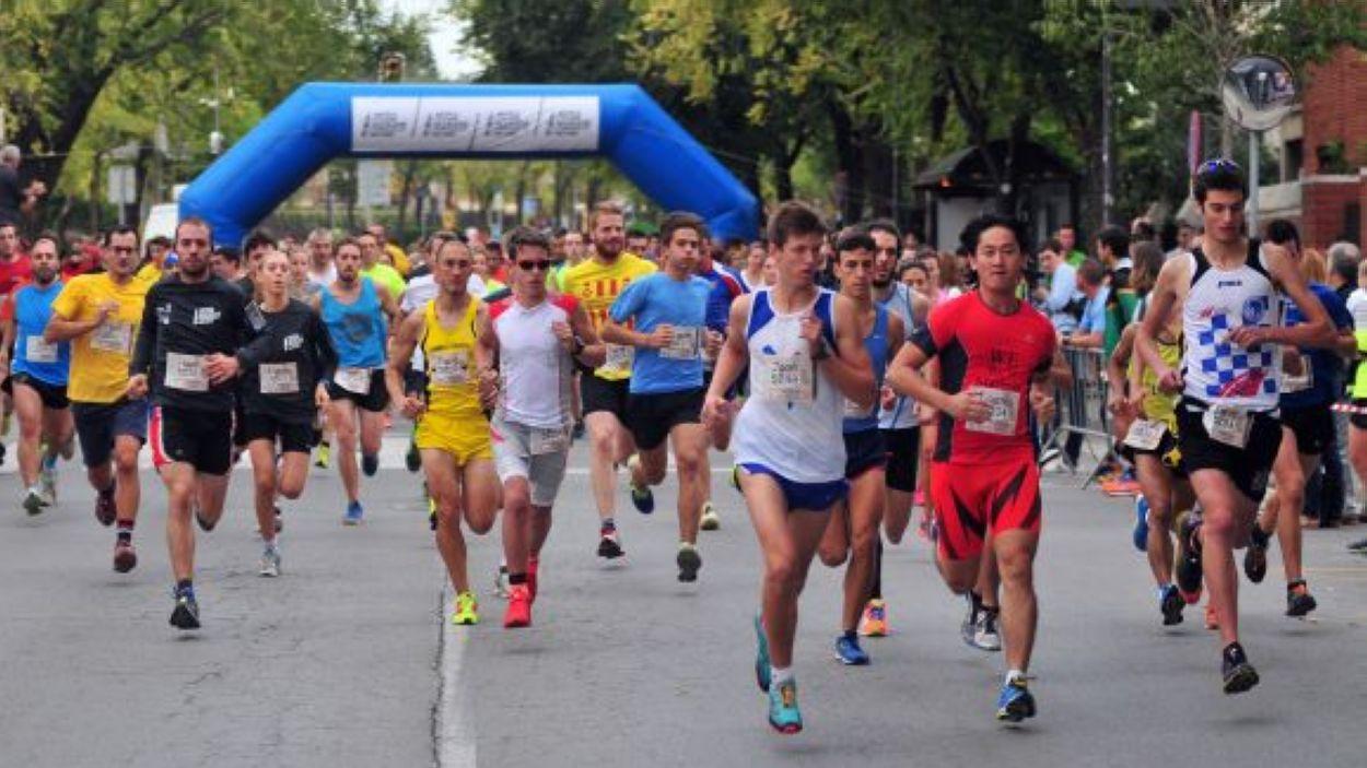 Imatge d'arxiu de la Mitja Marató / Font: Localpres
