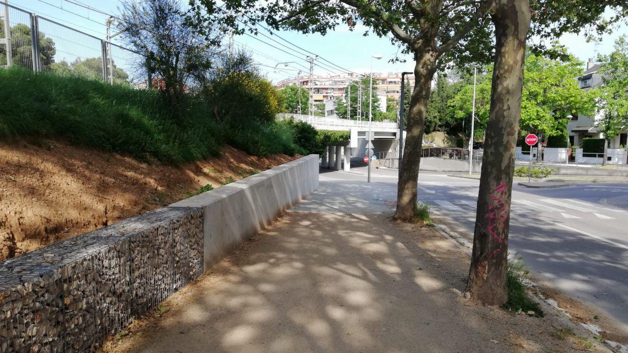 El Camí de Can Gatxet es tallarà el trànsit / Foto: Ajuntament
