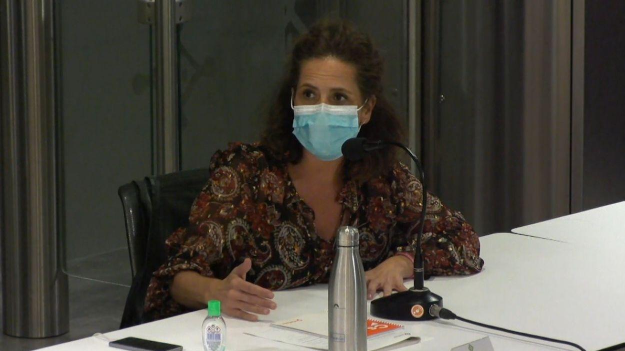 La regidora de Cs Sant Cugat Munia Fernández-Jordán / Foto: Cugat Mèdia