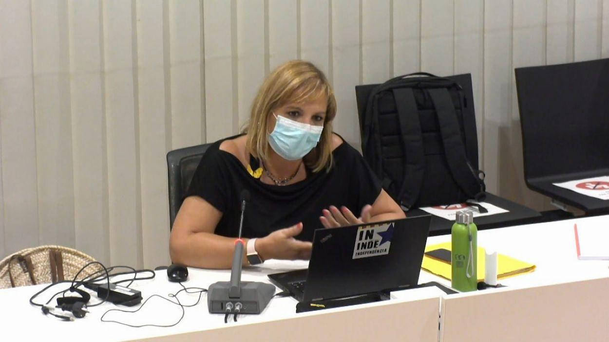 La regidora de Junts per Sant Cugat Núria Fernández / Foto: Cugat Mèdia