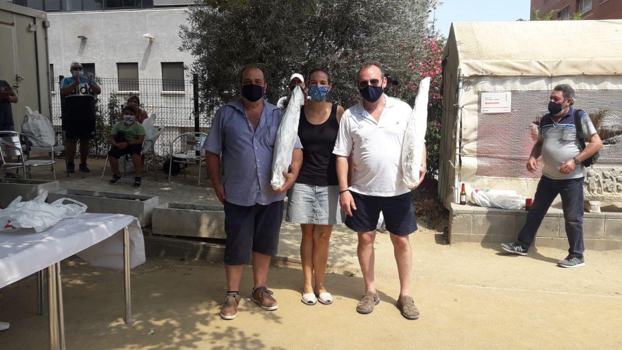 Guanyadors del torneig social del Petanca Sant Cugat / Font: Club Petanca Sant Cugat