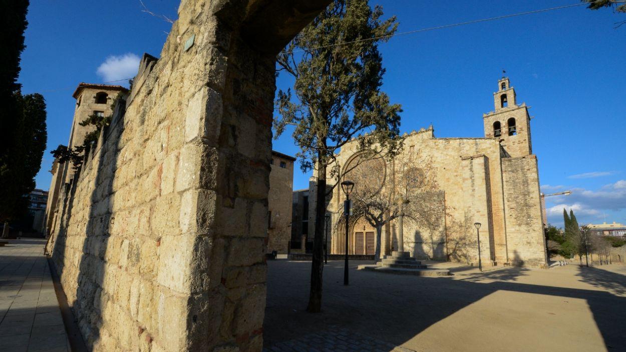 El Monestir de Sant Cugat és un Bé Cultural d'Interès Nacional / Foto: Localpres