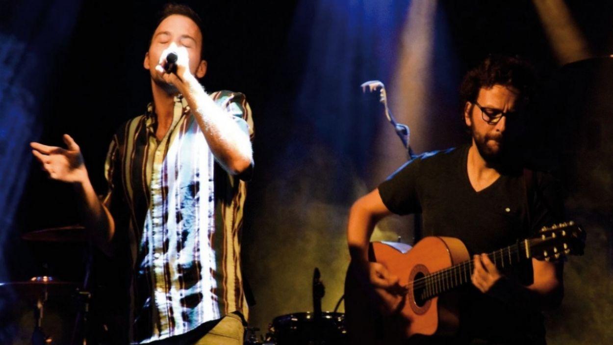 Francesc Abril (veu) i Marc Sambola (guitarra) / Foto: Franc