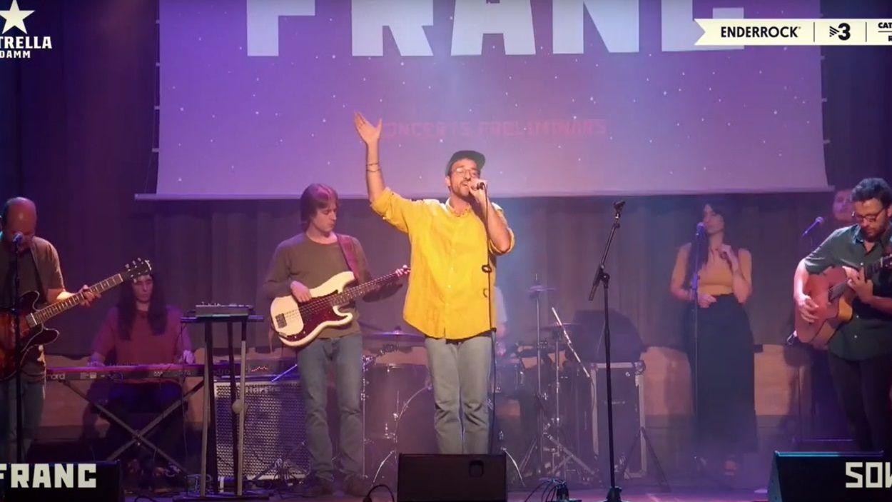 La banda amb segell santcugatenc Franc, a un pas de la fase final del Sona9