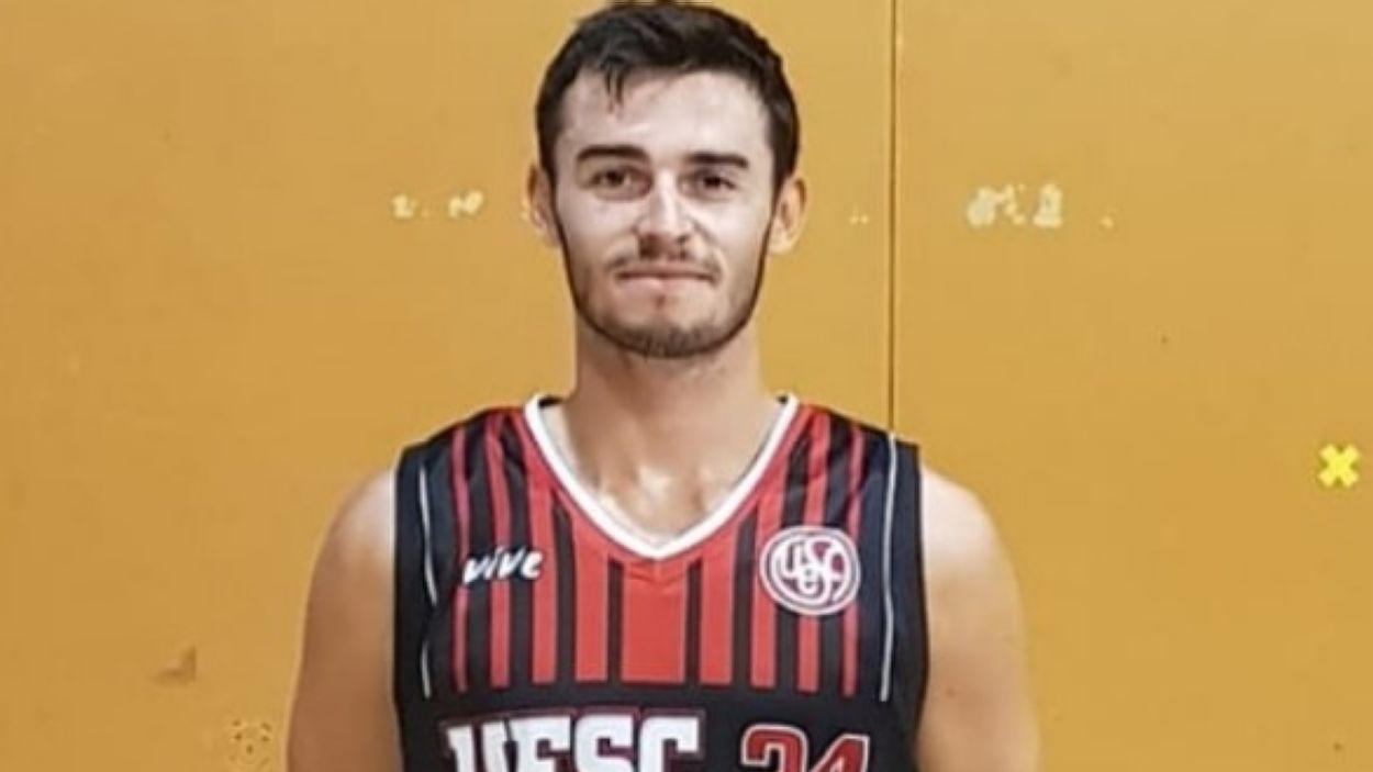 Pol Rodríguez és una de les cares noves de la UESC pel debut a Lliga EBA / Font: UESC