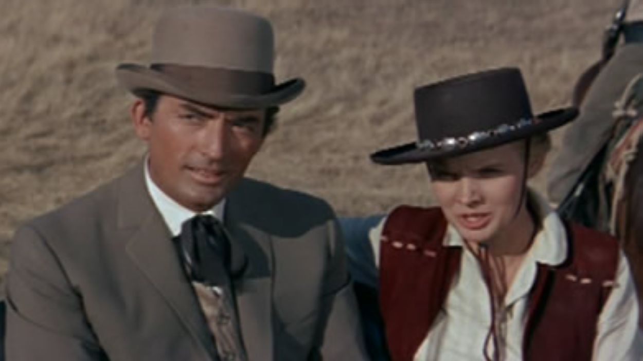 Gregory Peck a 'The big country'