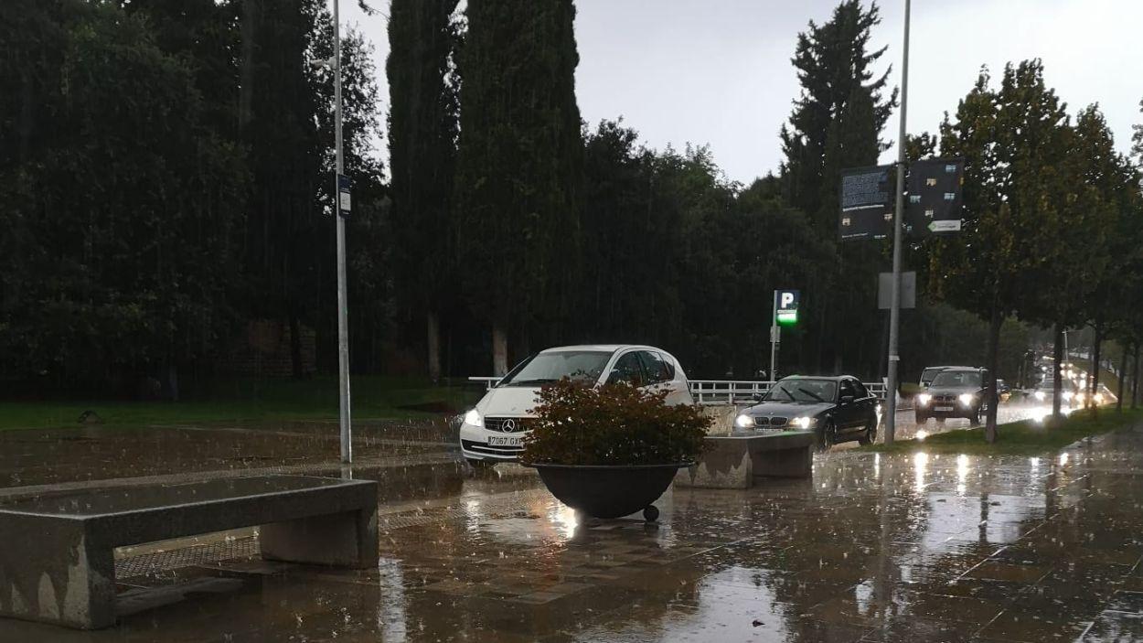 Les precipitacions han passat per Sant Cugat sense afectacions / Foto: Cugat Mèdia