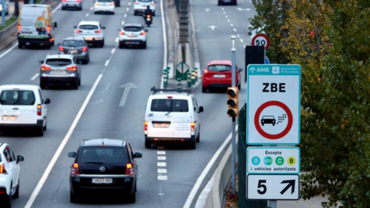 A partir d'aquest dimarts ja se sancionaran els vehicles que incompleixin la mesura / Foto: ACN